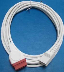 Ge Utah Ibp Cable White 70078001 11pin To 4pin 3m Long