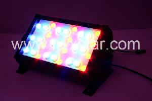 Rgb High Power Led Floodlight 30watt 0.35a, Full Range Of Color Available Aluminous Body For Outdoor