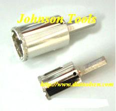 Diamond Core Bits For Glass Drilling.