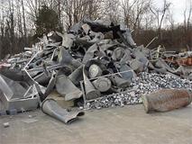 Clean Aluminum Scrap, Stock# 6535 5050