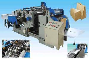 Paper Shopping Bag Handbag Making Machine Equipment