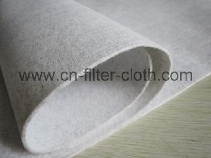 Polyester Anti-static Needle Punched Filter Felt Filter Cloth / Dust Collector Filte Bag