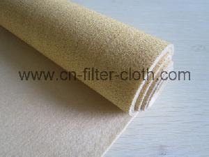nomex ptfe membrane needle punched filter felt cloth