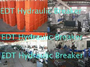 hydraulic hammer rock breaker chisel front head piston cylinder