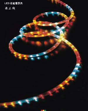 Multi-color 3 Wire Round Led Rope Lighting With Rohs Certified