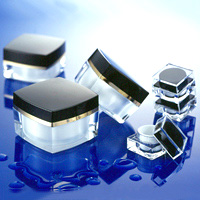 Cosmetic Plastic Packaging Plastic Cream Jar