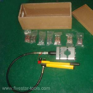 Hydraulic Air Conditionhose Crimper Kit / Ac Repair Tools / Handheld Hose Crimp