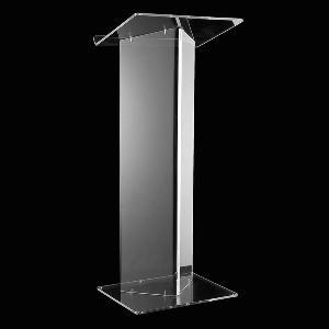 Freestanding Acrylic Lectern