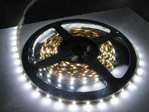 60pcs / M Waterproof 3528 White Color Flexible Led Strip