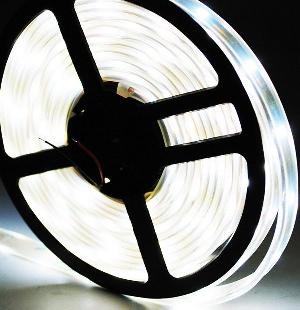 Flexible 30 Led 5050 Smd White Car Light Strip