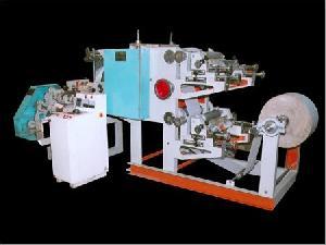 variable paper napkin machine