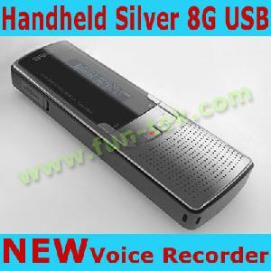 Handheld Lcd Digital Voice Recorder Audio / Voice Recorder Stereo Dvr Vor Dictaphone Mp3 Am Fm Mp3