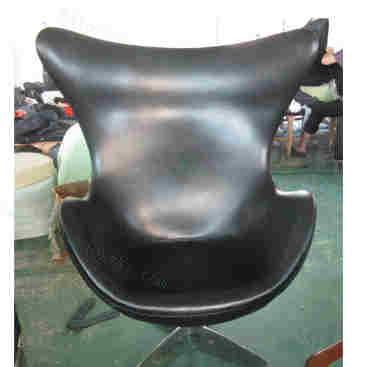 Replica Modern Classic Leather Arne Jacobsen Egg Chair