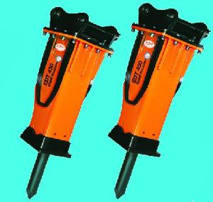 moil point chisel h wedge tool blunt hydraulic breaker hammer rock