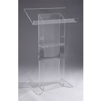 Freestanding Lucite Lectern