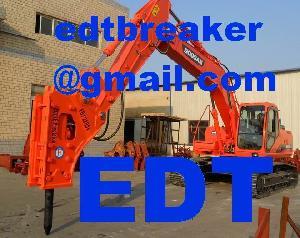 hydraulic hammer rock breaker martillo hidraulico edt importer distributor