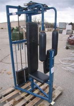 Nautilus Rear Shoulder Machine, Stock# 3224-7051