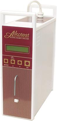 Alkotest Alcohol Contents Volume Percentage Analyzer