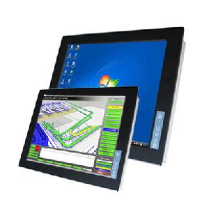 Industrial Lcd Display Monitor With 17 Lcd Panel And Touch Screen