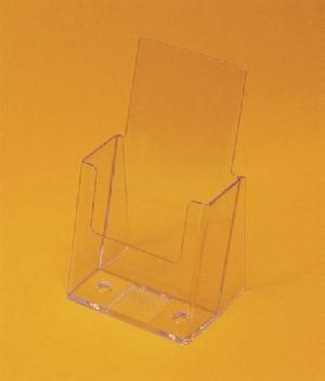 acrylic tri fold brochure holder