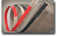 Ptfe Coated Fiberglass Cloth Belt Fabric
