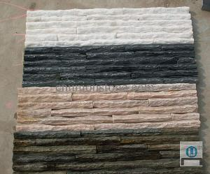 Stacked Stone, Ledgestone, Ledge Slate Veneer, Wall Cladding, Faux Stone Panels