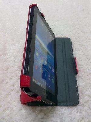 Samsung Galaxy P1000 Leather Case