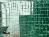 Plastic Coating Euro Fence, Guardrail Mesh