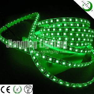 flexible 5050 led strip light green waterproof