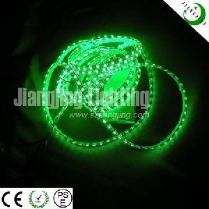 green flexible 5050 waterproof led ribbon light 5 m