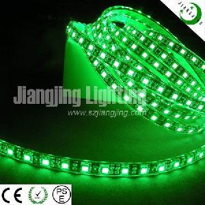 smd 5050 flexible green led strip lighting