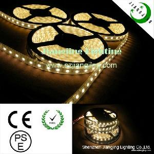 warm flexible led 5050 smd strip light silicon tube