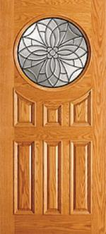 rose wood door mdf veneer panel solid frame