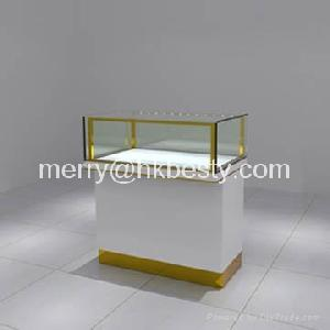 Led Lights Fine Jewelry Wooded Display Showcases