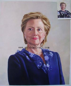 Portrait Oil Painting Hand Painted-oil-painting-portrait Portrait-painting-supplier