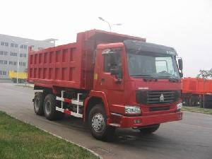 Tipper Truck For Transport Equipments