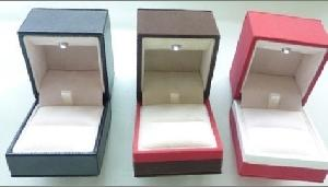 jewelry box led light jewellery ring