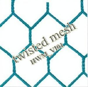 Pvc Coated Hexagonal Wire Netting, Chicken Brdding Mesh