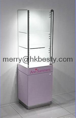 Full Enclosed Jewelry Display Kiosk