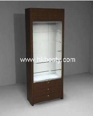 Fancy And Diamond Tower Display Cabinet Watch Display