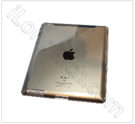 Clear Crystal Hard Case Cover For Ipad 2gen-grey