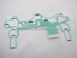 Ps2 Controller Button Ribbon Repair Keypad Flex Cable