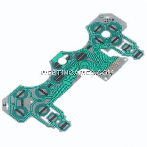 Conductive Film Keypad Flex Cable For Playstation 3 Ps3 Controller Original