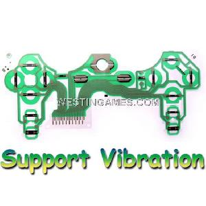 Conductive Film Keypad Flex Cable Support Vibration For Playstation 3 Ps3 Controller Original