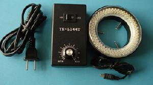 Led-microscoop Ring Light Illuminator Lamp, Licht Aanpassing Controle