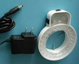 Stereo Microscoop Verlichting Ring Licht Met 64 Heldere Witte Led-lamp Yk-s64t