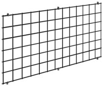 exhibition wire grid wall panel