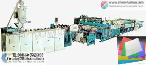 Plastic Machinery-hollow Grating Plate Production Line