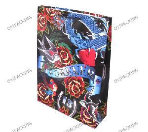 Forever Love Shinny Fashional Paper Bag