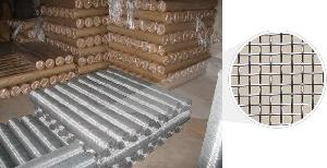 Stainless Steel Woven Wire Mesh, Square Hole